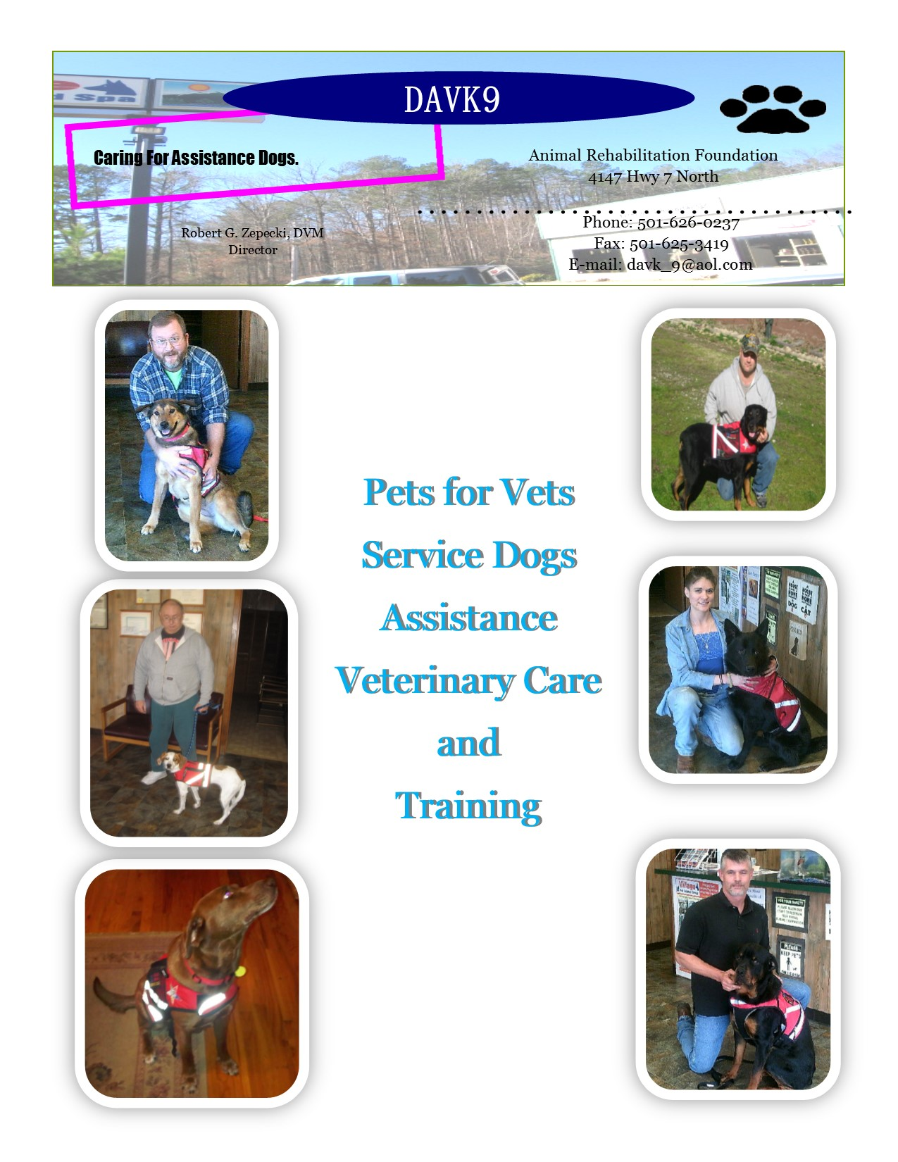 Davk9 Pets For Vets Service Dog Certification Project Usafa